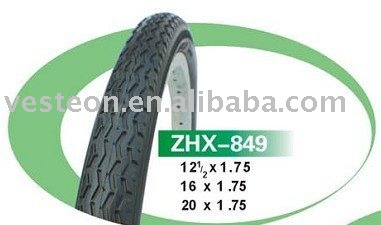 Bicycle tyre 12 1/2x1.75
