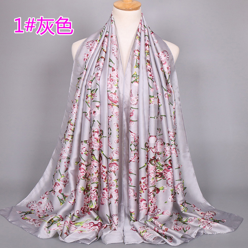 brand name Tongshi silk satin scarf