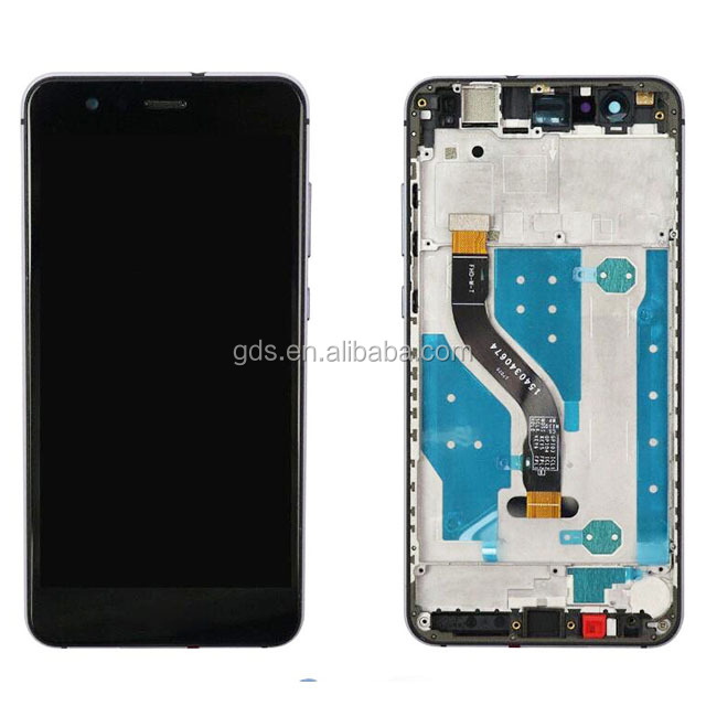 Mobile phone parts  LCD with frame For Huawei P10 Lite