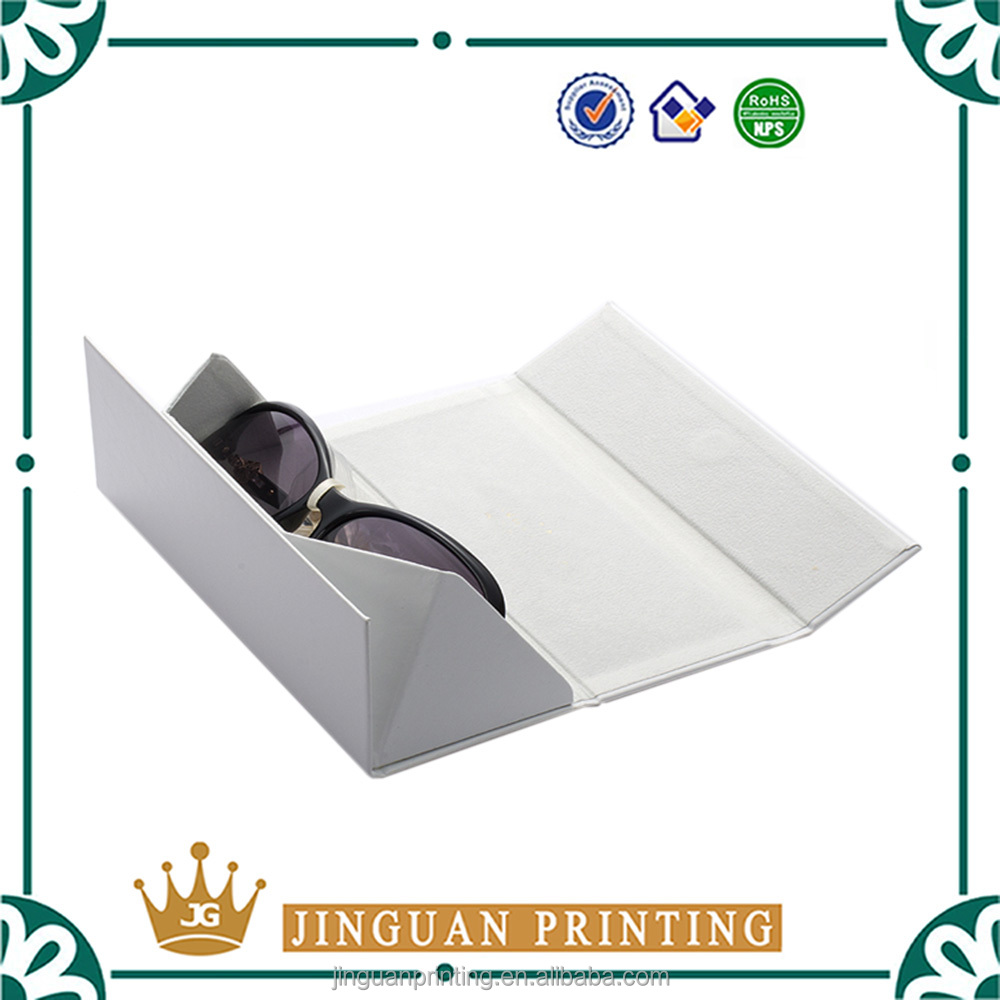Foldable elegant customized printing logo packaging cardboard triangle box