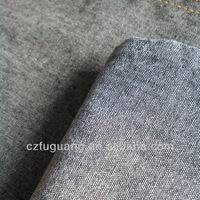 100 cotton woven yarn dyed denim fabric chambray