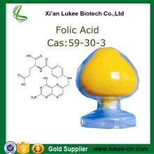 High quality and Competitive price Folic acid USP23, Folic acid in bulk USP38 for folic acid tablet