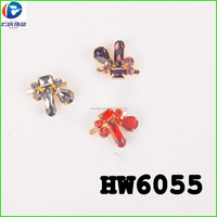Removable Flower Design Wedding Rhinestones Shoe Clip Pearl Rhinestones for Shoe Decoration