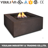 Guangzhou free standing square gas fireplace with CE/CSA certificate