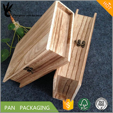 Special Book Shape Wooden Box With Vintage Color Wood Gift Box For Graduation Or Keepsake 23*14.5*5.5cm Can Customization