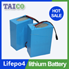 Deep Cycle Rechargeable Battery 12v 30ah Lifepo4 Battery Pack