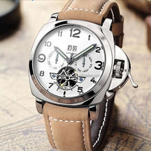 Wholesale relojes stainless steel megir watches men luxury automatic watch