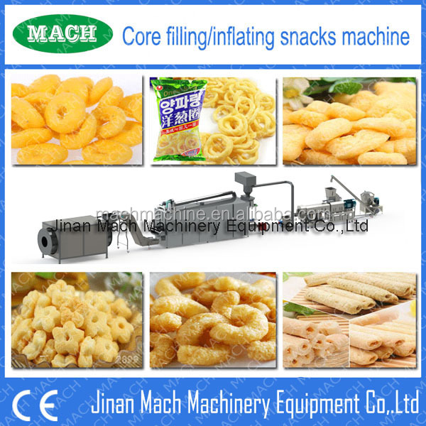 China Manufacuturer Of Corn Snack food Machine