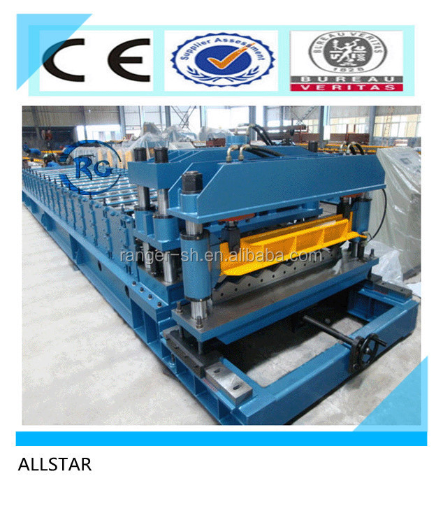China Supplier zincalume corrugated metal sheet Roll Forming Machine for sale