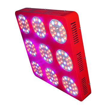 CE rohs 162*3w high power hydroponic full spectrum apollo 480w led grow light
