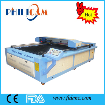 China 1325 co2 cnc laser cutting engraving machine for wood plastic acrylic