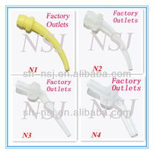 Dental Intra-oral tip to attach of mixing tip for impression material
