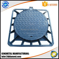 Heavy Duty EN124 D400 C/O 600mm Ductile Iron GGG50 Round manhole cover
