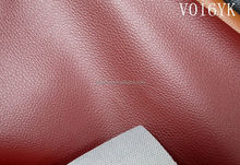 Strong backing PVC leather for car seats, Furniture Upholstery PVC Synthetic Leather