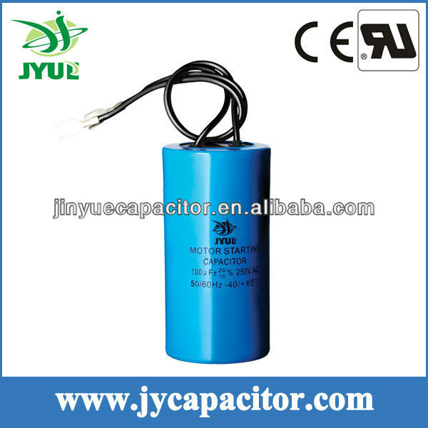 CD60 AC MOTOR STARTING CAPACITOR 100MFD 250V