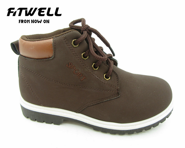 new arrival brown child ankle boots