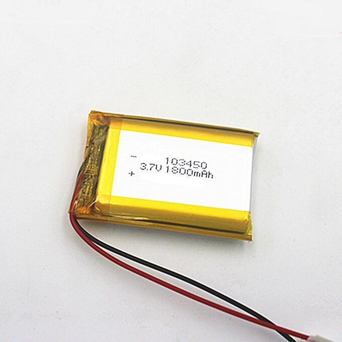 Beauty Instrument Hydrogen-Rich Water Cup polymer Lipo Lithium Polymer 103450 1800mAh 3.7V Battery