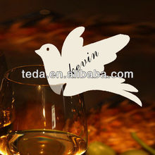 3D Dove Birds Place Card (PD-062)