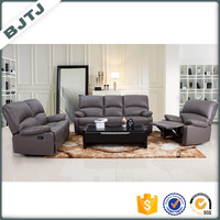 BJTJ simple reclining 6 seat sofa set designs 70616