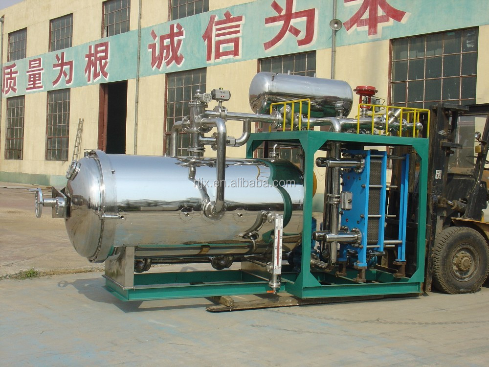 Automatic hot water spray types autoclave for sterilizing food