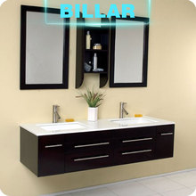 Hot selling factory price plywood bathroom vanity cabinet