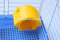 Superior plastic Small cute hamster house/small pet houses for sale