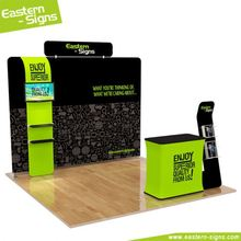 Custom Design Display System 10ft trade Show Exhibition Booth