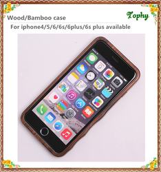 For Iphone 6 Wooden Covers, Bamboo Wood Covers for Iphone 6, Wood Case walnut for Iphone 6