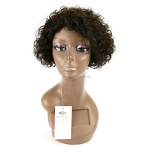 Chinese Supplier Alibaba Curly Wave Style wig hair lace front and Human Hair Material brazilian human hair wig with low density
