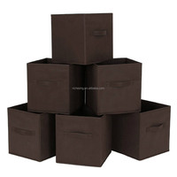 OEM china wholesale non woven fabric storage cubes