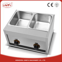 Chuangyu High Demand Export Products 16L Double Inner Pot Gas Auto Fryer For Delicious Fried Chicken