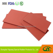 Sublimation heat resistant foam silicone pad