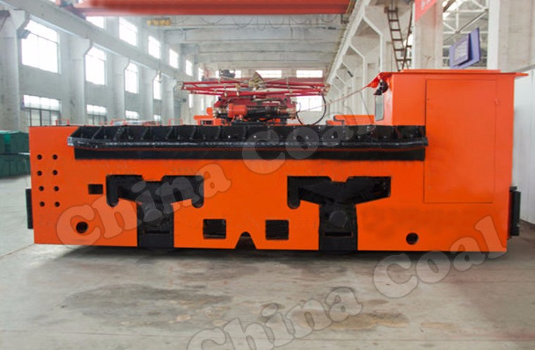 Shandong Chinacoal Group 20 Tons Trolley Locomotives For Underground Mining