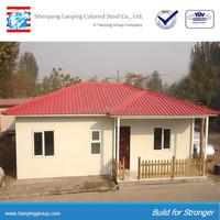 Light steel prefabricated modular house