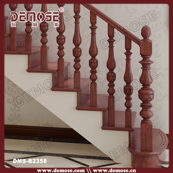 Wood Stairs Rails, Wood Stairs Rails Suppliers And Manufacturers At  Alibaba.com