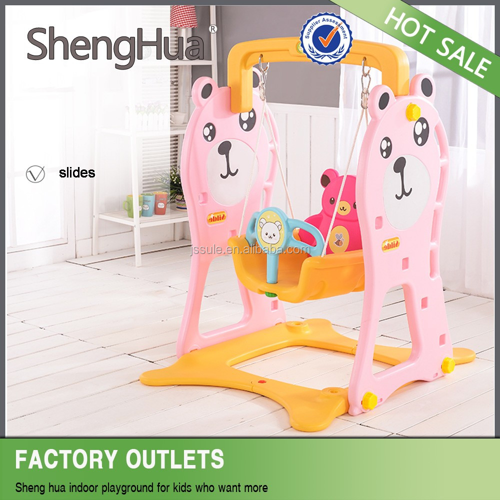 China wholesale child toys double swing for kids with ISO 9001 certificate