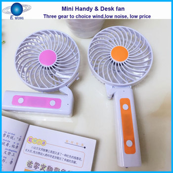 Mini handy fan / Mini desk fan with low cost and high quality good for protional gifts