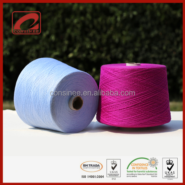 Consinee professional factory cashmere yarn shops where to buy knitting yarn ningbo