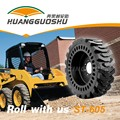 top sale cheap 14x17.5 bobcat skid steer loader solid tires with wheels (golden supplier)