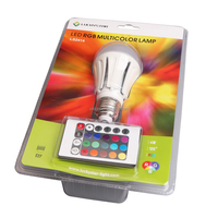 luckystar rgb bulb 3 years warranty 7w hot e27 220 volt led light bulbs