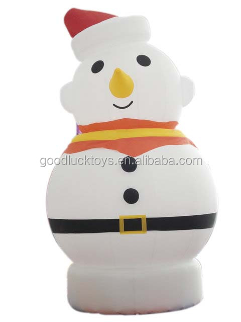 2015 hot Christmas cartoon/event/party inflatable figure model custom for decorationdisplay