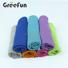 Extra Long Size 12 x 40'' Summer Cleaning Cloths , Ultimate Mesh 6602 Evaporative Chill Microfiber Cooling Towel for Sports
