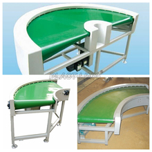 Customized 90 degree curve belt conveyor180 degree conveyor with factory price