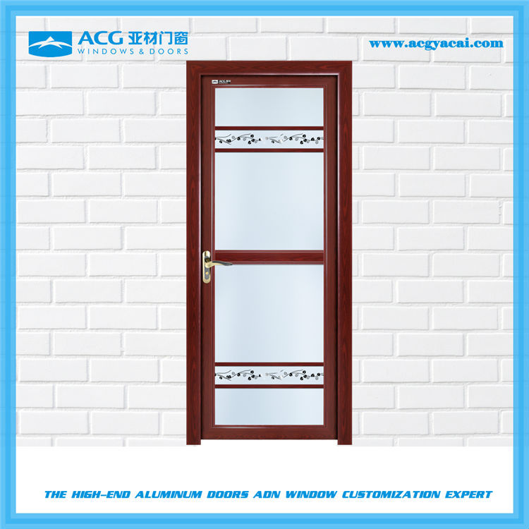 High anticorrosion performance aluminum kitchen swing door