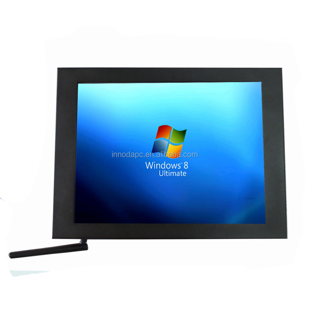 made in china high performance intel dual core D2550 touch screen 15inch desktop computer