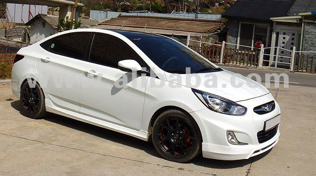 BEST SELLING Hyundai Accent Bodykit in ABS Material