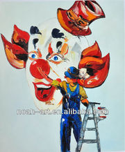 New Design Colorful Clown Painting