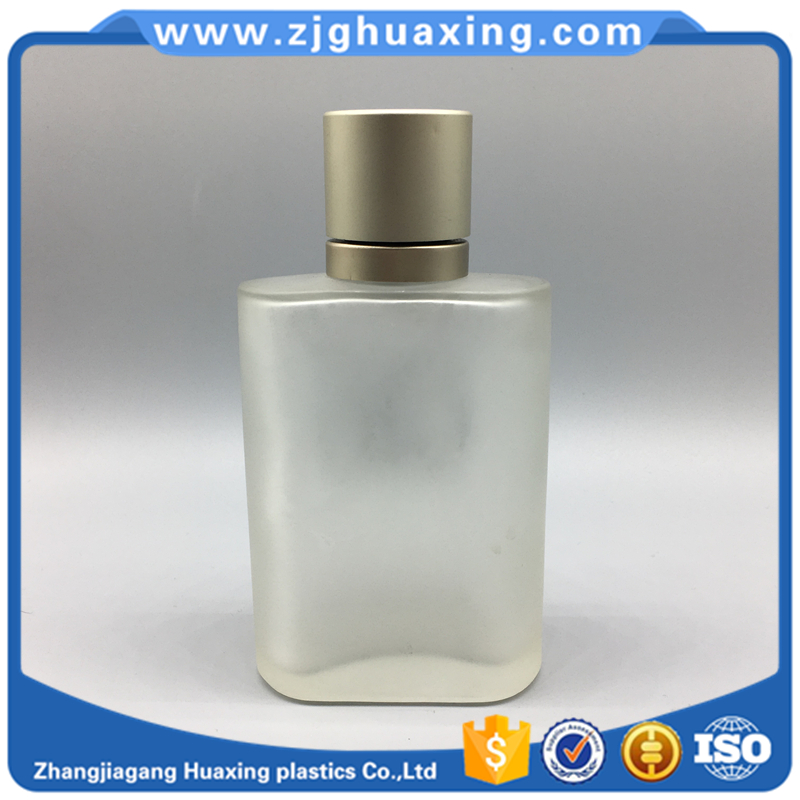 100ml famous brand glass bottle smart collection perfume for man wholesale free sample round aluminum perfume cap
