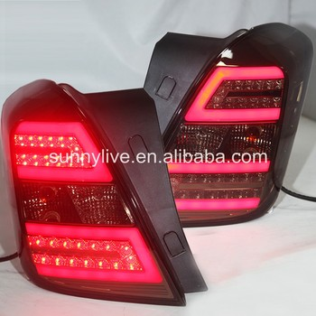 2013-2014 Year for CHEVROLET Trax LED Strip Tail Light C Style Smoke Black BW