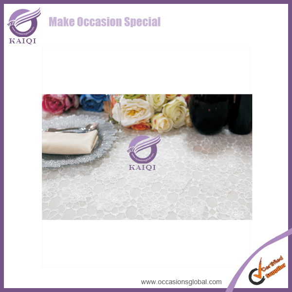 19263 wedding sequin table linens and disposable 120 round white tablecloth